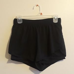 Ambiance black work out short
